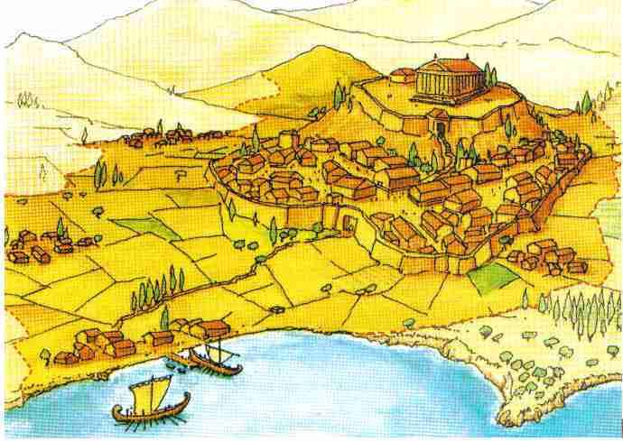 Profesor de historia geograf a y arte grecia antigua Como eran las casas griegas