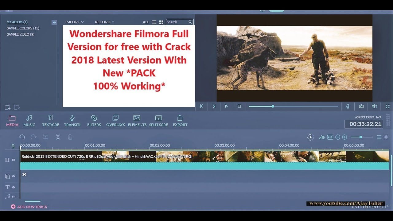 wondershare video editor effects pack free download