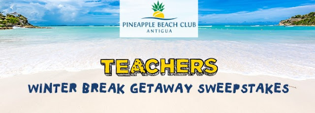 Teachers Winter Break Getaway Sweepstakes