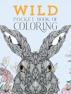 WILD POCKET BOOK OF COLORING cover