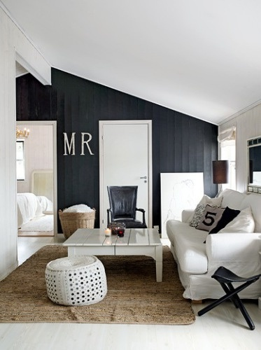 black accent wall in living room spicer bank by allison egan singapore style black 24936