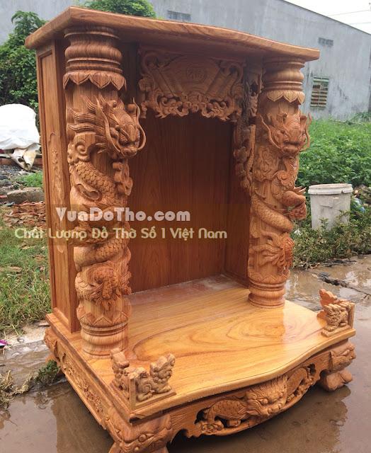 Bàn thờ thần tài ông địa đẹp tại Tân Bình