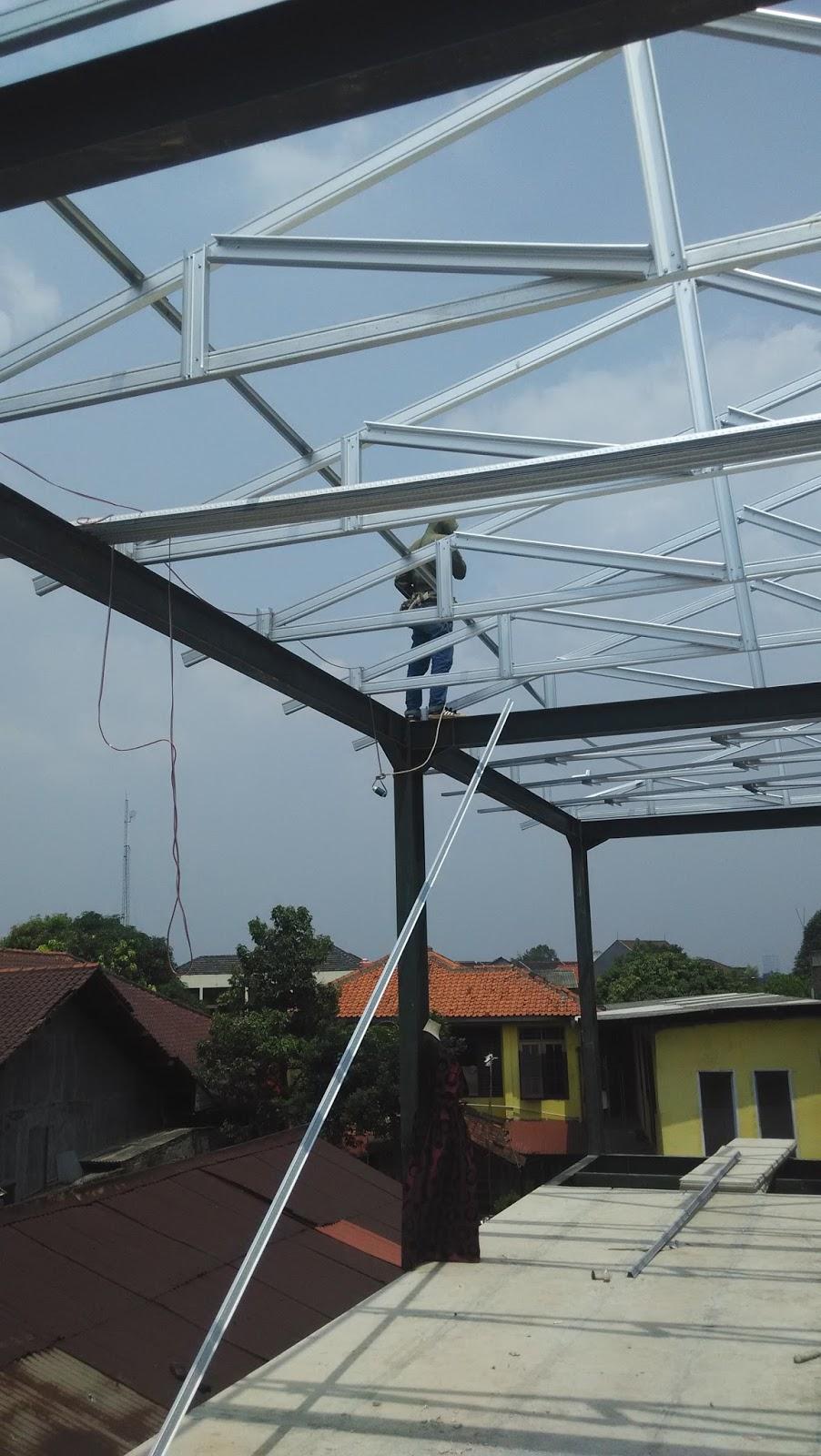 Atap Baja Ringan Ciledug 081249846372 Konstruksi
