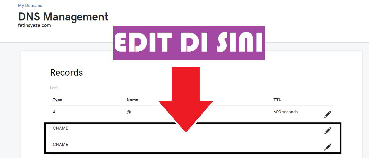 Cara Set Up Domain di Blogger