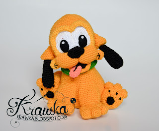 Baby Pluto from Mickey Mouse pattern by Krawka