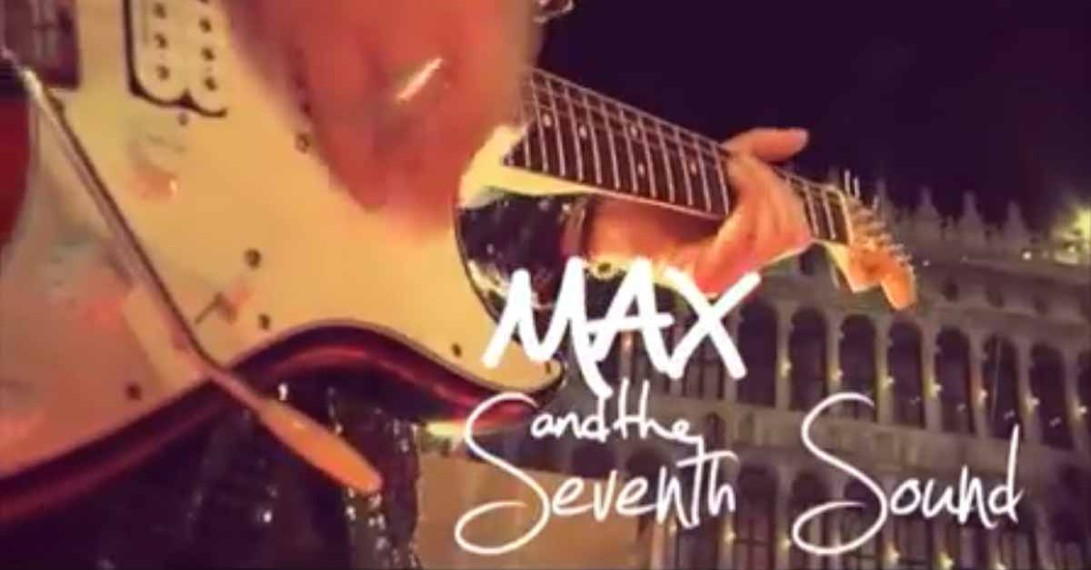 Max and the Seventh Sound in Piazza San Marco nel Carnevale 2018