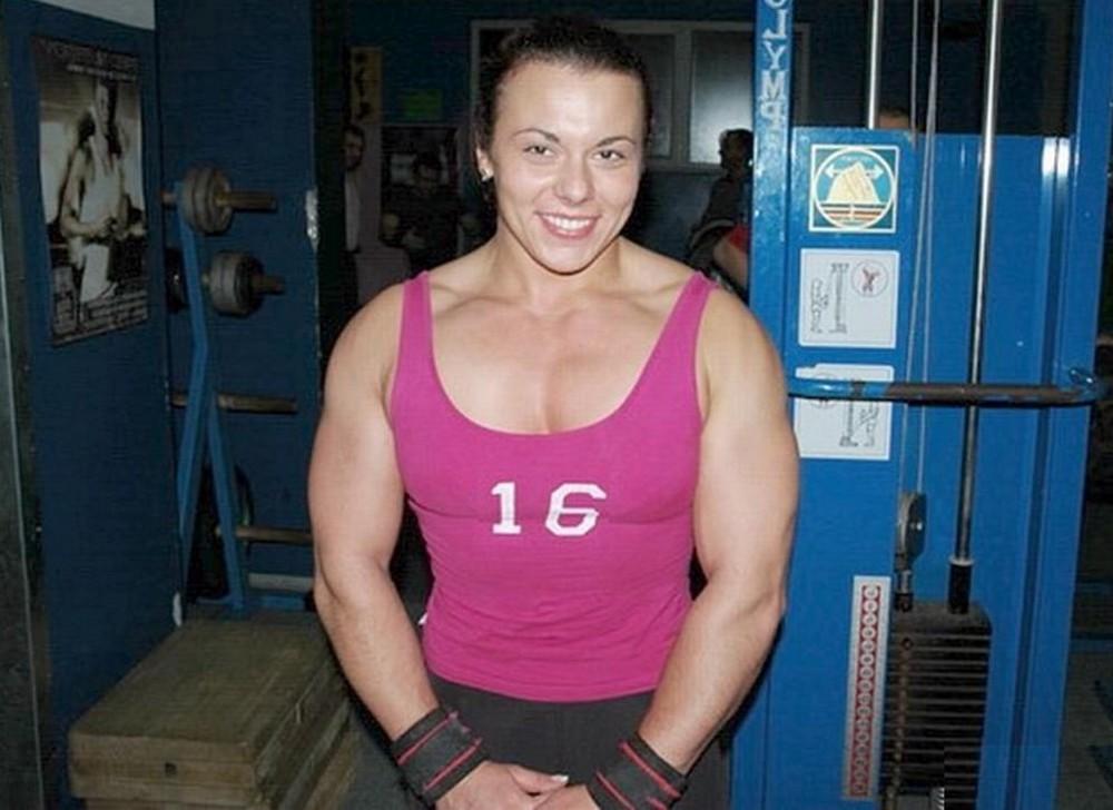 Gym Work: Aneta Florczyk.