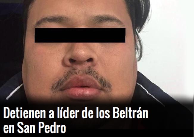 """Marinos capturan a """"El Cochi"""", líder de los Beltrán Leyva en San Pedro Nuevo León"""