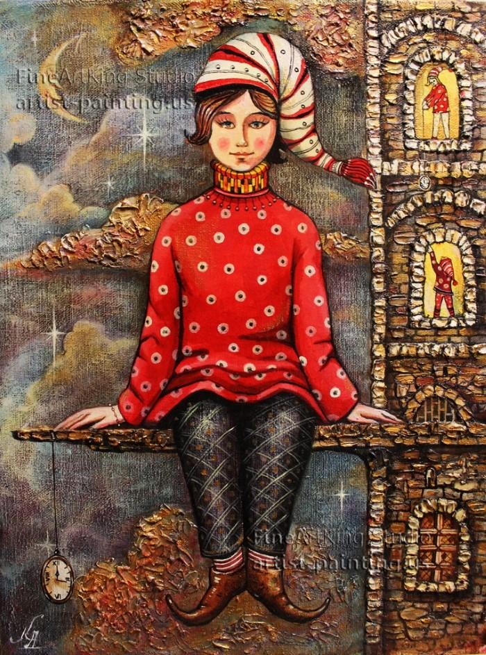 Болгарский художник. Dmitry King