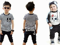 Berbelanja Baju Anak Laki-laki Keren