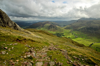 Great Langdale and Lake Windermere