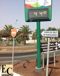 alerta máxima por calor Gran Canaria miércoles 10 agosto