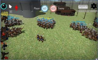 Game Medieval battles 3D Apk