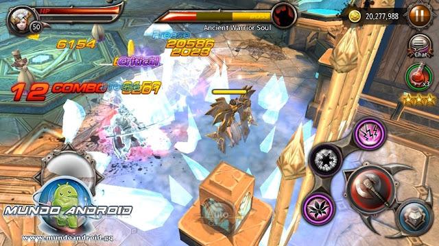 Jugabilida de Blade: Sword Of Elysion