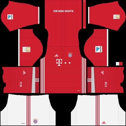 milo fts 2018 fc bayern munich kits 20162017