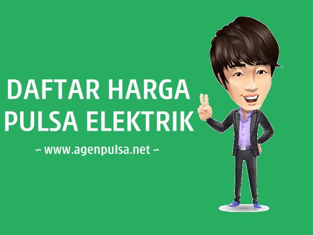 Daftar Harga Pulsa Elektrik Murah All Operator AgenPulsa.net