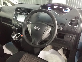 INTERIOR NISSAN NEW SERENA 2016-2017