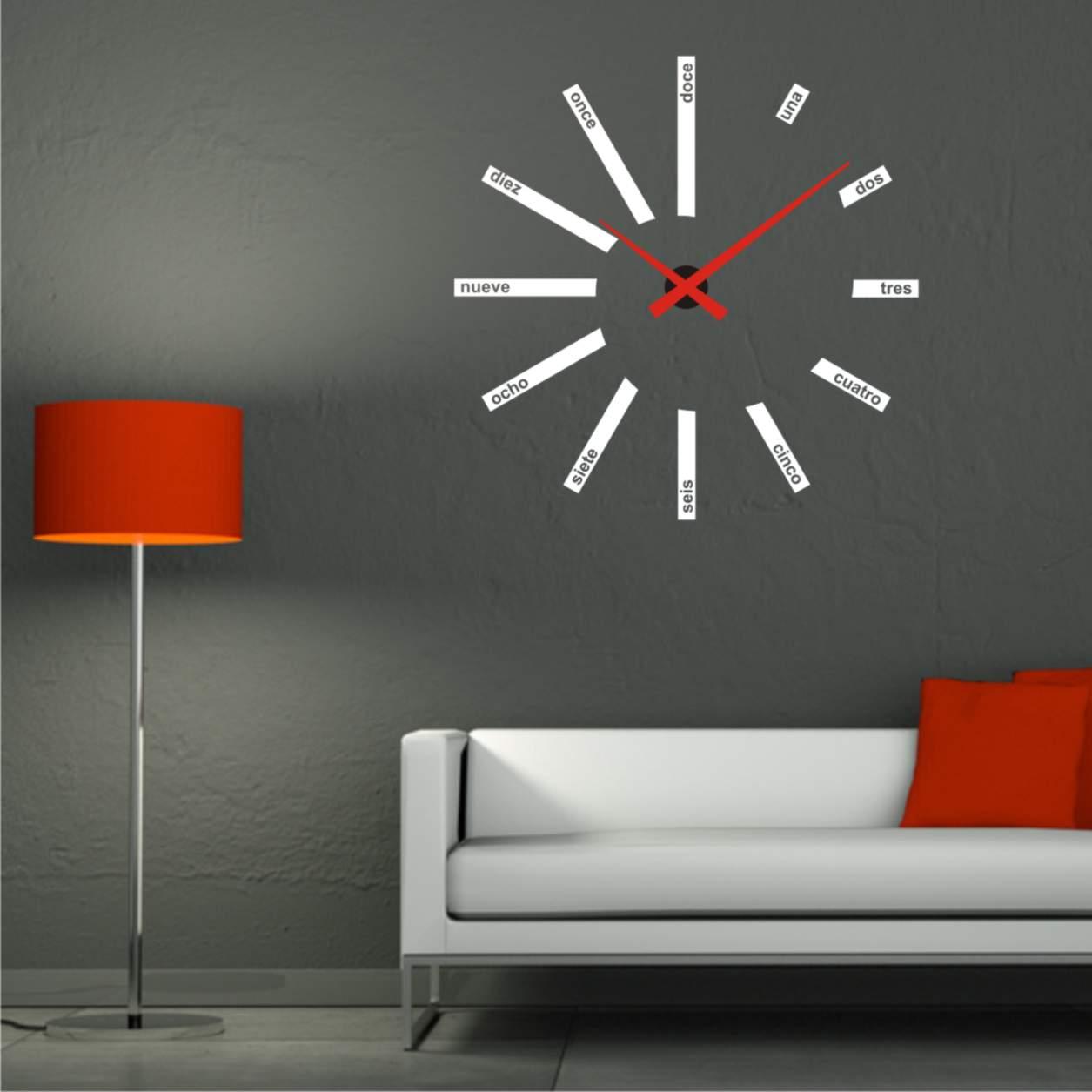 a0ae11e08a71 Relojes de pared modernos y de diseño La Oca - Relojes De Diseño De Pared