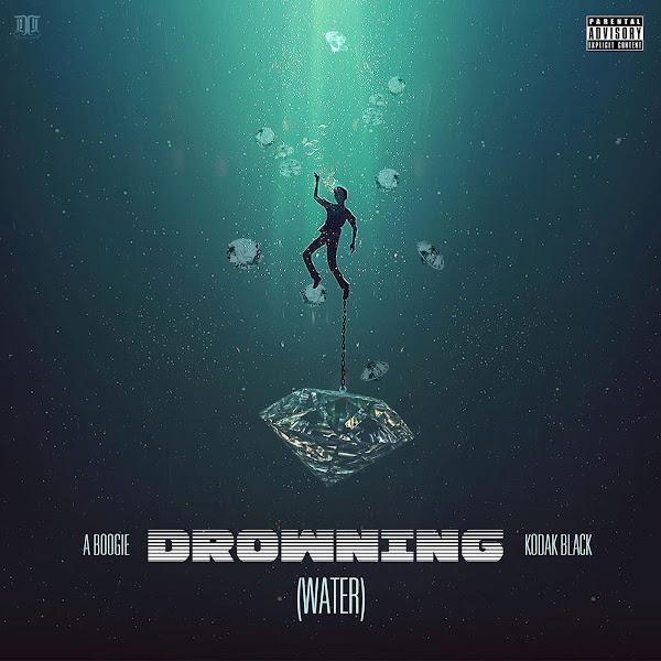 A Boogie Wit da Hoodie - Drowning (feat. Kodak Black) - Single Cover
