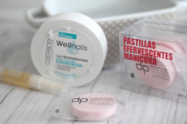 photo-cuidar-uñas-gel-tratamiento-tratamiento-casa-pastillas-efervescentes-mercadona-aceite-cuticulas-opi-toallitas-catrice