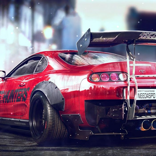 Need For Speed Toyota Supra Wallpaper Engine