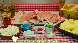 Receta de chuletas de cerdo adobadas al horno