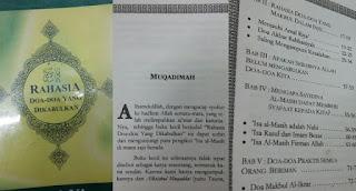 Hati Hati Sampul Buku Doa Islami Isi Doa doa Kristenisasi