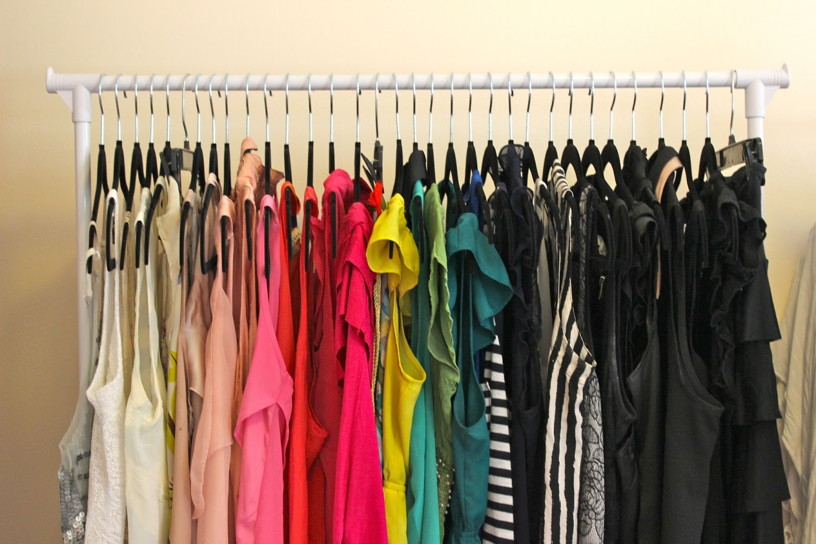 Turning A Spare Room Into A Walk In Closet – Dina s Days