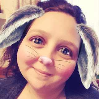 PippaD with a Snapchat Bunny Filter. Why? Well why not.