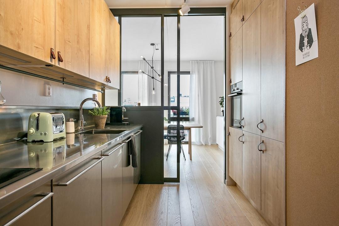 une cuisine couloir