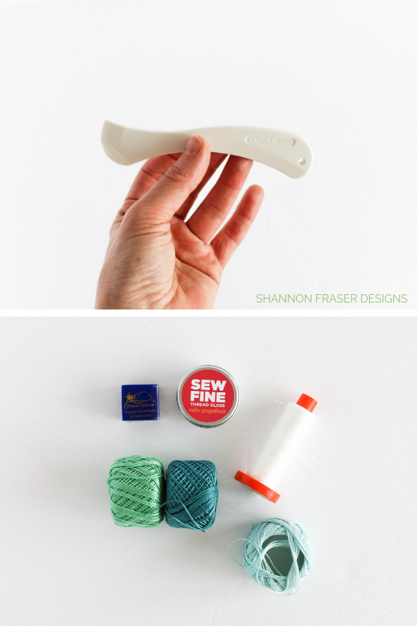 On the road notions & tools | What's in my travel sewing bag | Shannon Fraser Designs