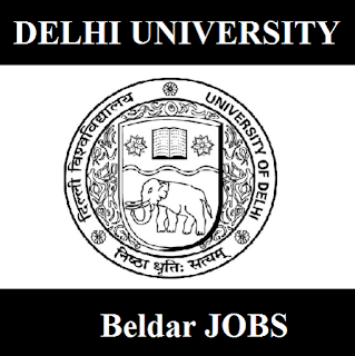 University of Delhi, DU, Delhi, DU Delhi, Beldar, Delhi, 10th, freejobalert, Sarkari Naukri, Latest Jobs, du delhi logo