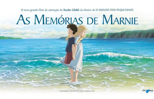 As Memórias de Marnie  / Omoide no Marnie / When Marnie Was There (FILME COMPLETO)
