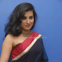 Archana In transparant saree