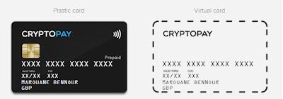 بطاقة فيزا CryptoPay