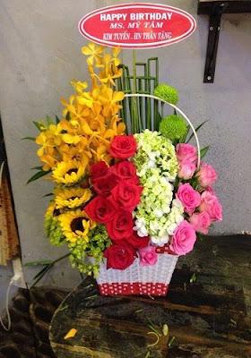 chọn hoa sinh nhật cho nam