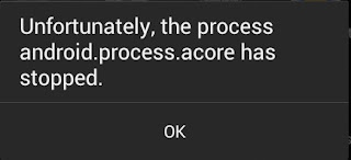 5 Cara Mengatasi Sayangnya, android.proccess.acore Telah Berhenti