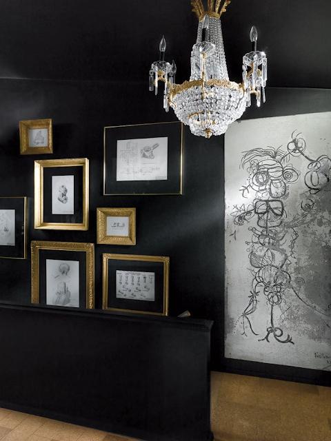 Interior design by Annie (Brahler) Smith of Euro Trash - found on Hello Lovely Studio