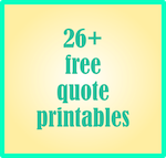 free quote journaling printables