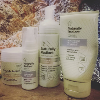 Superdrug Naturally Radiant empties