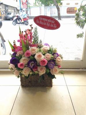 Hoa tang sinh nhat vo dep nhat