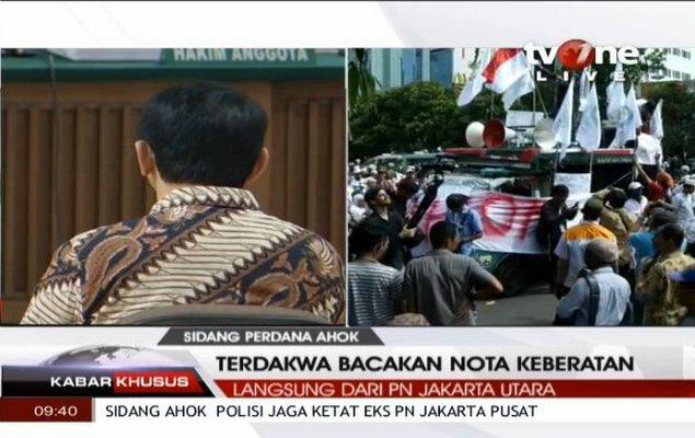 Ahok Nangis Bombai di Sidang Perdana, Ini Tanggapan Makjleb Netizen dan Pakar Hukum