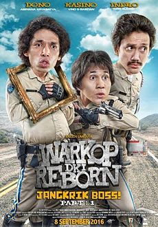 Download Warkop DKI Reborn Jangkrik Boss! Part 1 (2016)