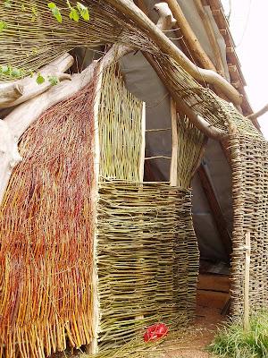 Greenwood Woman Weaving The The Armadillo Hut Amp Clissett