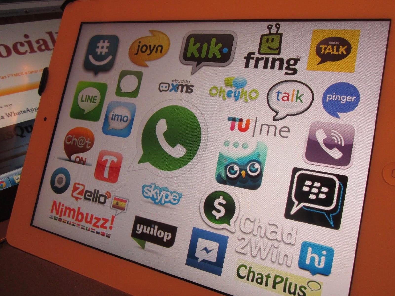 Alternativas a WhatsApp. Descargar. Bajar. smartphones, móvil, aplicaciones, HOOKT MESSENGER, VIBER, BLACKBERRY MESSENGER, LINE, TELEGRAM, ChatOn, TalkDroid Messenger