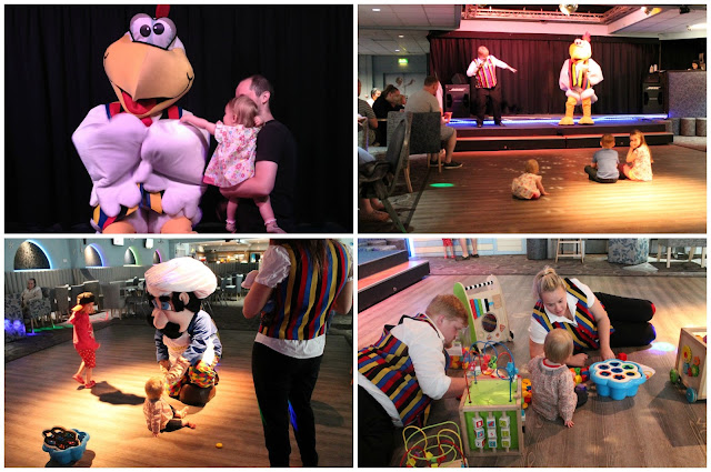 children's entertainment at John Fowler holiday parks