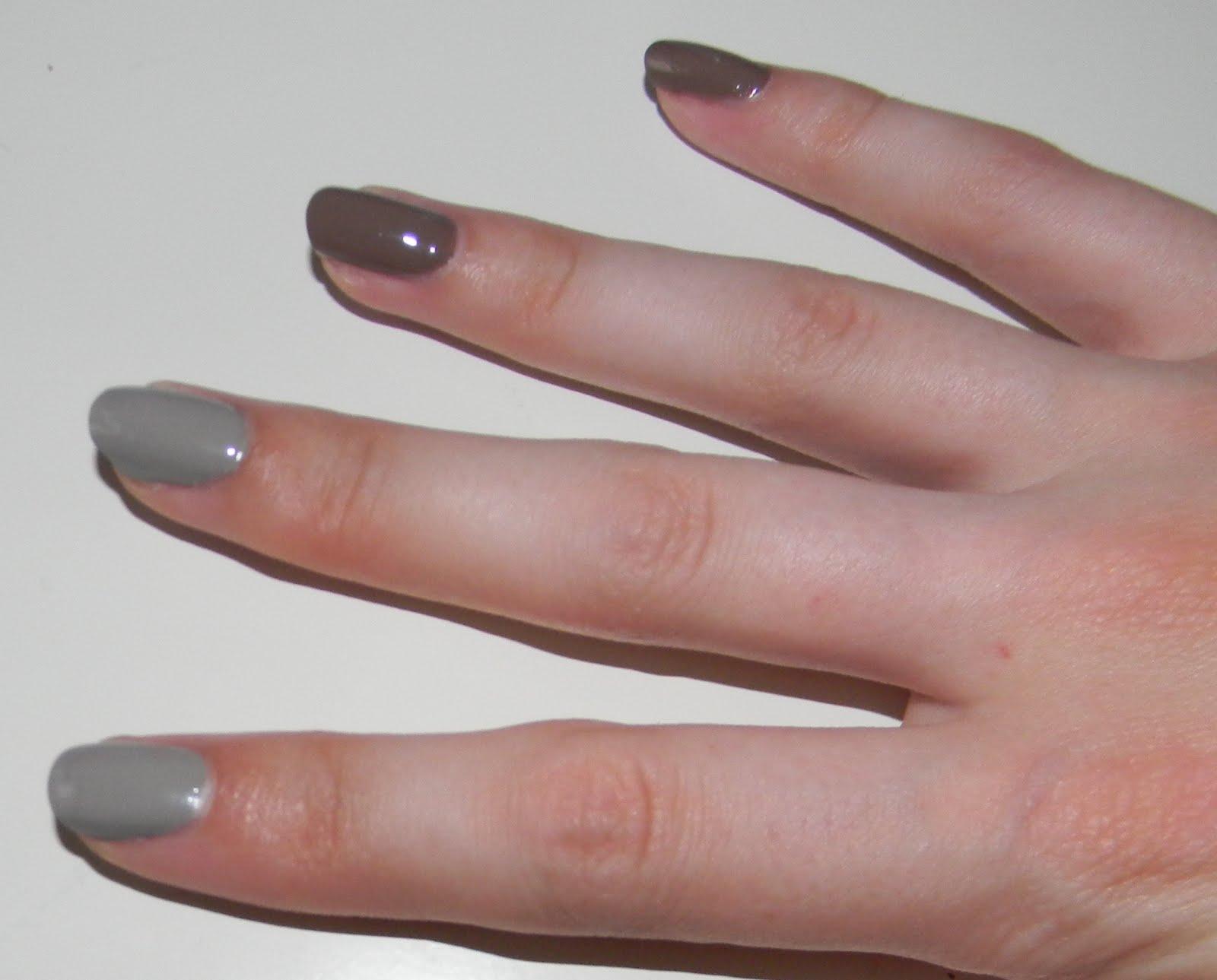 MissBudgetBeauty: Neutral Ombre Nails