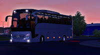 ETS2 Ônibus - Novo Mercedes Benz Travego 2016 V.4.0 Para V.1.28.X By: Can SKMN