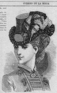 Una de las ilustraciones de la edición de El Correo de la Moda