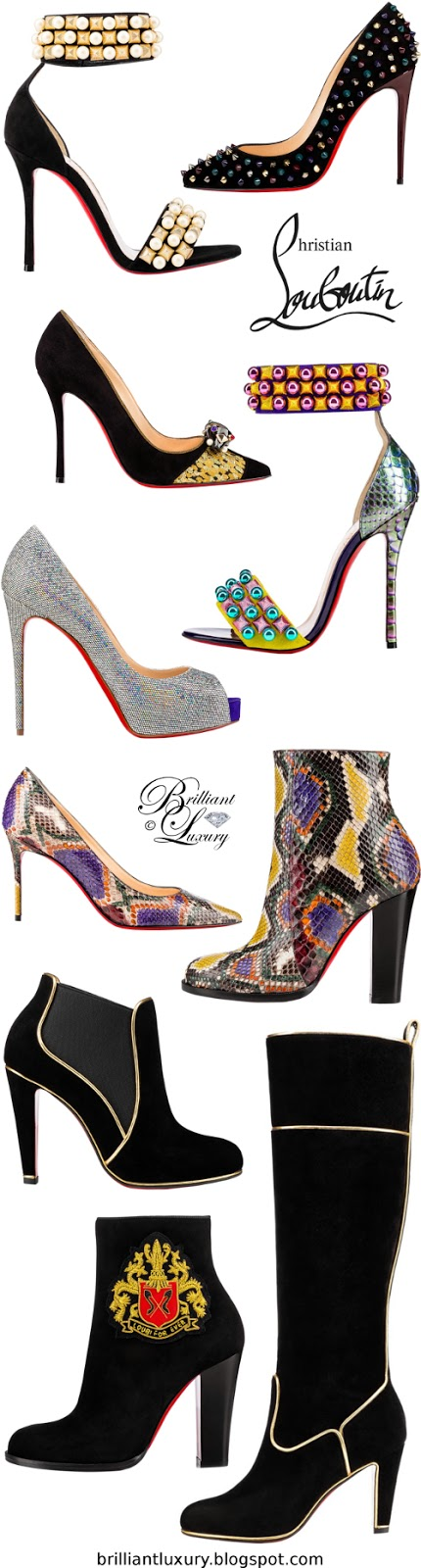 Brilliant Luxury ♦ Christian Louboutin New Collection FW 2016
